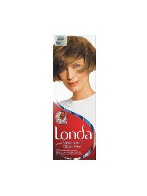 Крем-краска для волос упрямой седины стойкая 15+ Темный блондин LONDA. Цвет: белый, красный