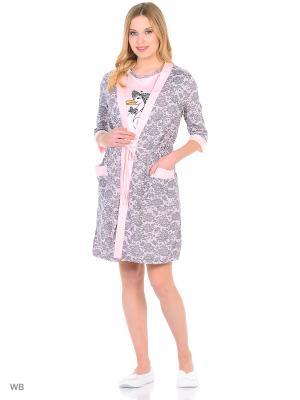 Домашний костюм KIDONLY. Цвет: розовый