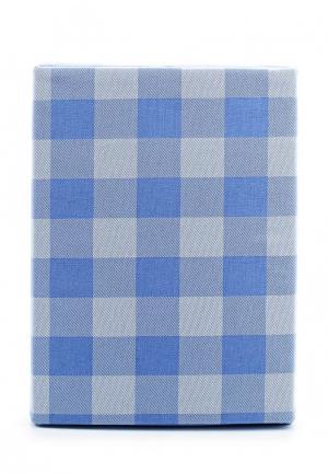 Комплект постельного белья 2-спальный Хлопковый Край. Цвет: голубой