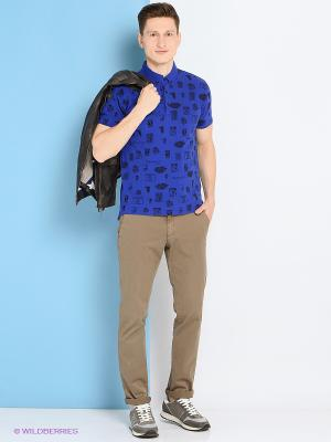Рубашка Trussardi. Цвет: индиго