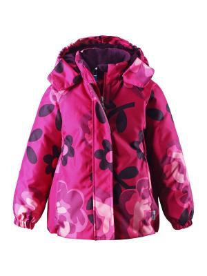 Куртка Lassie by Reima. Цвет: малиновый