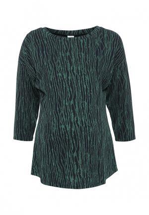 Блуза MammySize. Цвет: зеленый