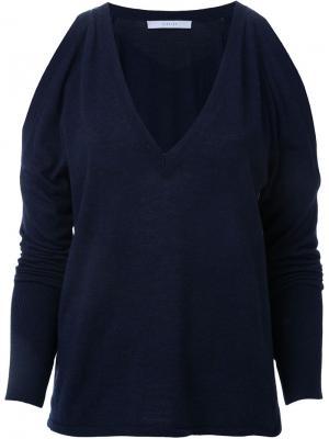 Triple v sweater Dion Lee. Цвет: синий