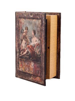 Шкатулка-фолиант Эпоха возрождения Русские подарки. Цвет: коричневый