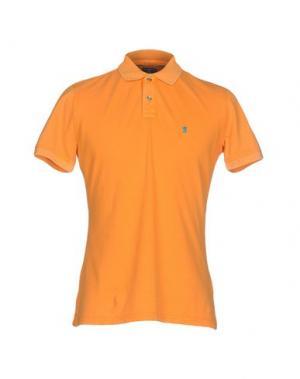 Поло JAGGY. Цвет: оранжевый