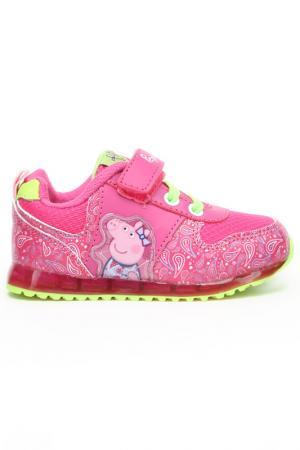 Кроссовки Peppa Pig. Цвет: фуксия