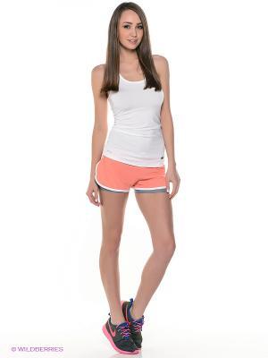 Шорты, Nike Full Flex 2-in-1 Shorts. Цвет: светло-коралловый