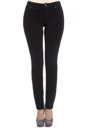 Классические джинсы Oui. Цвет: чёрный
