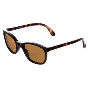 Очки  Tonga Shiny Tortoise Sunpocket. Цвет: коричневый