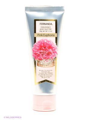 Парфюмированное крем-масло, 100 мл Fernanda. Цвет: серебристый, бледно-розовый