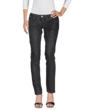 Джинсовые брюки SEVEN7. Цвет: черный