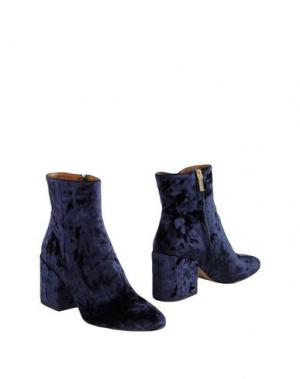 Полусапоги и высокие ботинки BIANCA DI. Цвет: темно-синий