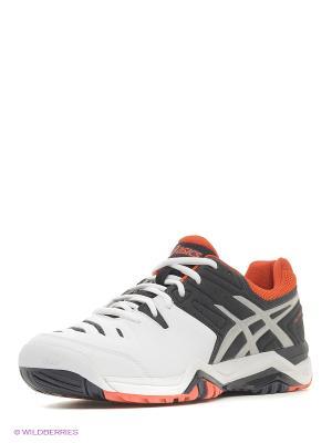 Спортивная обувь GEL-CHALLENGER 10 ASICS. Цвет: белый, синий, оранжевый