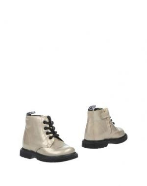 Полусапоги и высокие ботинки CULT. Цвет: светло-серый