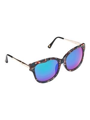 Солнцезащитные очки Kameo-bis. Цвет: синий, зеленый, бежевый