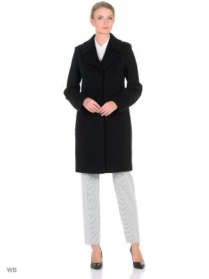 Пальто Electrastyle. Цвет: черный, антрацитовый