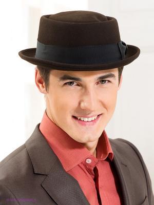 Шляпа Goorin Brothers. Цвет: темно-коричневый, черный