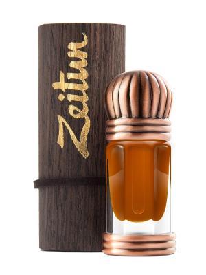 Концентрированные масляные духи Мускус Абельмош Зейтун. Цвет: светло-коричневый