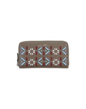 Бумажник LA CARRIE BAG. Цвет: хаки