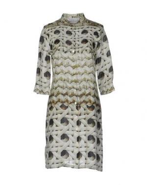 Короткое платье ZANETTI 1965. Цвет: светло-зеленый
