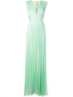 Вечернее платье Rita Maria Lucia Hohan. Цвет: зелёный