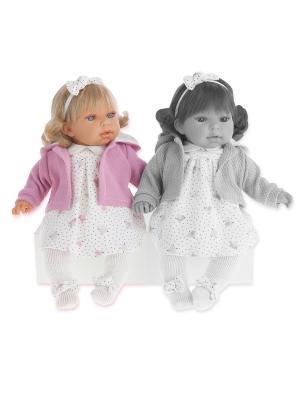 Кукла Лорена, озвученная, 37 см. Antonio Juan. Цвет: розовый, молочный