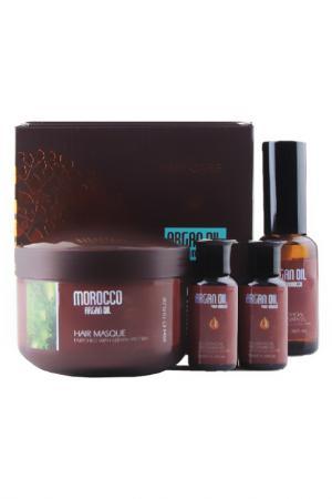 Маска для волос, масло арганы Morocco Argan Oil. Цвет: none