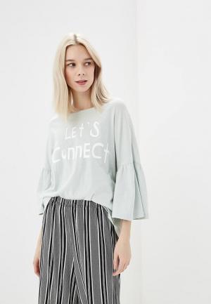 Лонгслив H:Connect. Цвет: зеленый