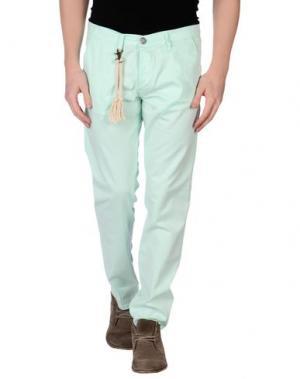 Повседневные брюки BASICON. Цвет: светло-зеленый