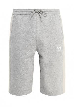 Шорты adidas Originals. Цвет: серый