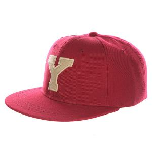 Бейсболка с прямым козырьком Truespin Abc Bordo Y. Цвет: бордовый