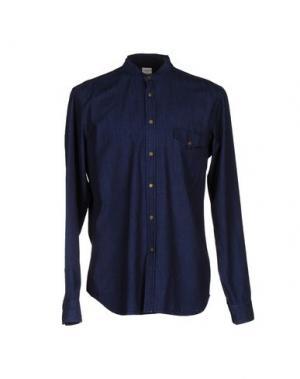 Джинсовая рубашка COVERT. Цвет: синий