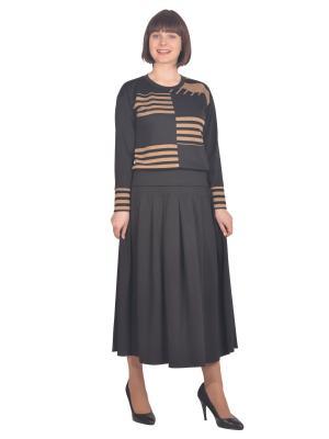 Свитшот Томилочка Мода ТМ. Цвет: черный, бронзовый