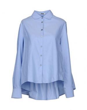 Pубашка JOURDEN. Цвет: лазурный