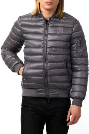 Куртка BIAGGIO. Цвет: серый