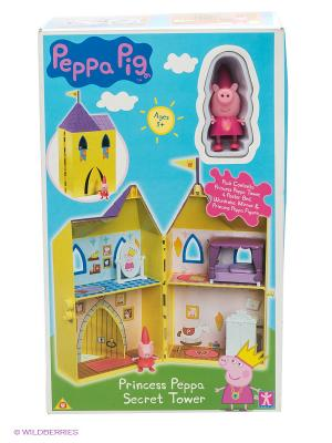 Игровой набор Замок принцессы Peppa Pig. Цвет: фиолетовый, розовый, желтый, зеленый