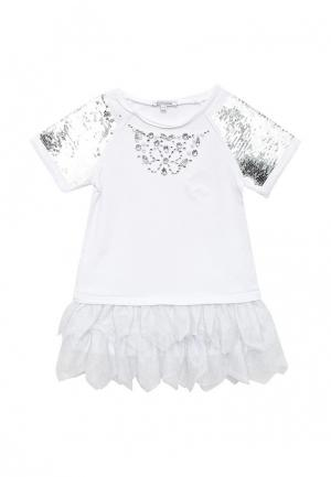 Платье Piazza Italia. Цвет: белый