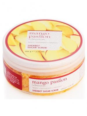 Скраб сахарный щербет Страстное манго 200 гр Sranrom. Цвет: белый
