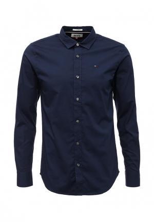 Рубашка Tommy Hilfiger Denim. Цвет: синий