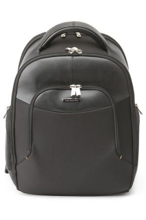 Рюкзак для ноутбука Samsonite. Цвет: черный