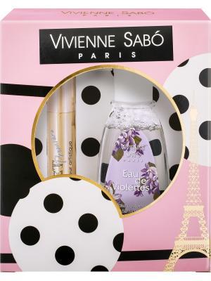 Подарочный набор Тушь Cabaret premiere тон 01 и Жидкость для снятия макияжа Vivienne Sabo. Цвет: черный