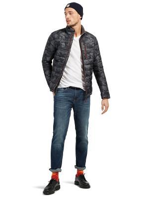 Куртка TOM TAILOR. Цвет: белый, темно-серый