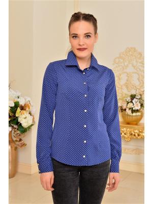 Рубашка Katerina Bleska&Tamara Savin. Цвет: синий
