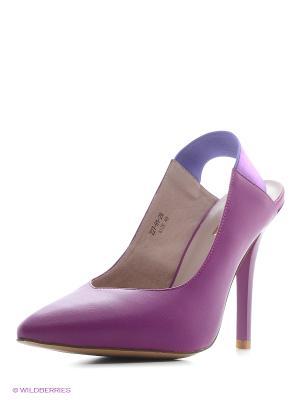 Туфли Dino Ricci. Цвет: фиолетовый