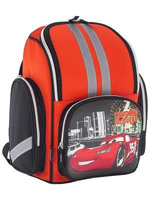 Ранец Disney Cars. Цвет: красный, синий, черный