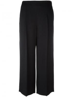 Укороченные брюки Chalayan. Цвет: чёрный