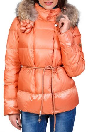 Пуховик Conver. Цвет: оранжевый