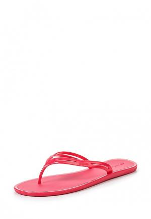 Сланцы Lacoste. Цвет: розовый