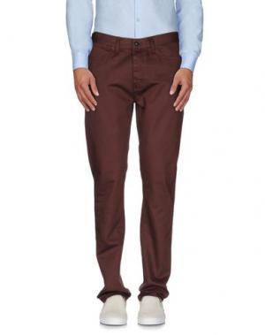 Повседневные брюки KR3W. Цвет: какао