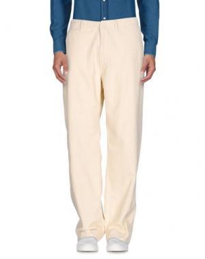 Повседневные брюки EAST HARBOUR SURPLUS. Цвет: слоновая кость